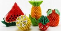 Модели из бумаги, оригами