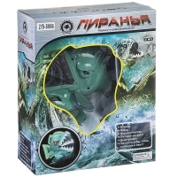 Рыба пиранья  на р/у, светящ., BOX 31,5х25,5х11,5см, арт.ZYB-B0986.