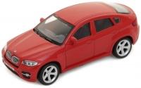 АВТОДРАЙВ. Модель машины масштаб 1:43 BMW X6 (глянц., серая, красная)