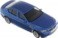 АВТОДРАЙВ. Модель машины масштаб 1:43 BMW M5 (глянц., синяя, белая)
