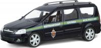 Машинка металл LADA LARGUS пограничная служба ФСБ 1:38