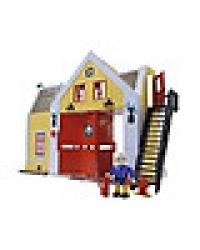 Пожарный Сэм Водный пожарная станция со светом,акс.+фигурка