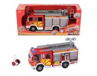 Пожарная машина с водой 30 см свет+звук