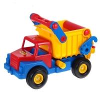 Автомобиль - самосвал № 1 с резин. колёсами