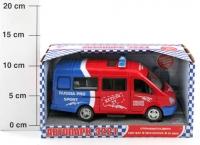 Инерц. маш.  Joy Toy BOX Автопарк, микроавтобус в ассортименте