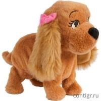 Собака Lucy интерактивная, эл/мех, выполняет 12 команд, коммуницирует с Lola, в открытой коробке, 30